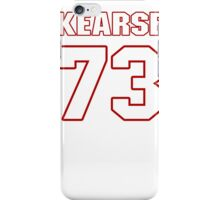 NFL Player Frank Kearse seventythree 73 iPhone Case/Skin