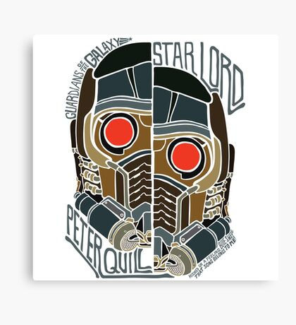 Star Lord Peter Quill Canvas Print