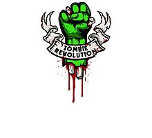 Zombie Revolution! Photographic Print