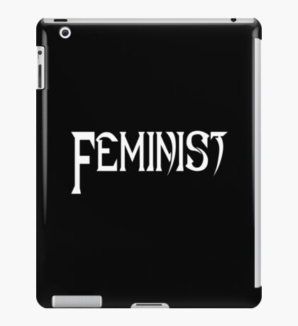 Feminist in Black and White iPad Case/Skin