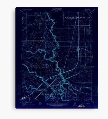 USGS TOPO Map California CA Lathrop 296229 1915 31680 geo Inverted Canvas Print