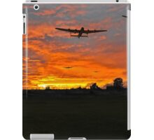 Bomber county: Lincolnshire sunset 1943 iPad Case/Skin