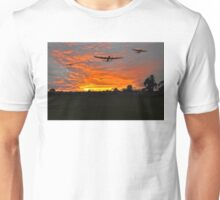 Bomber county: Lincolnshire sunset 1943 Unisex T-Shirt