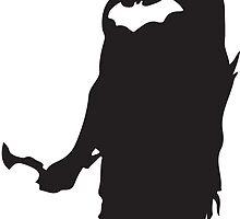 Superhero Silhouette Print by ProjectPixel