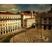 Lisbon....Town Hall square Photographic Print