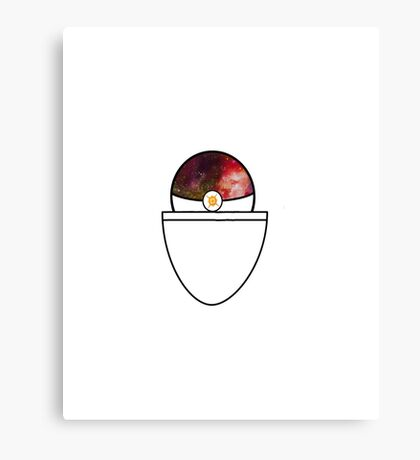 pokemon sun pokeball Canvas Print