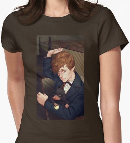 Fantastic Beasts Womens Fitted T-Shirt