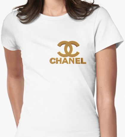 chanel H 3 Womens Fitted T-Shirt