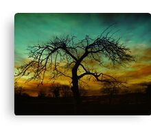 Mood tree  Canvas Print