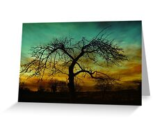 Mood tree  Greeting Card