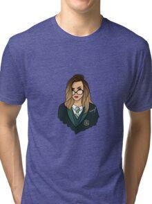 Sass to Slytherin Tri-blend T-Shirt