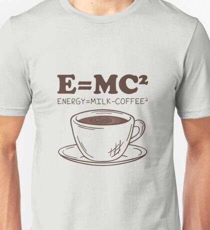 E MC Energy Milk Coffee Unisex T-Shirt