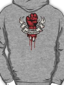Zombie Revolution! -red- T-Shirt