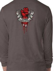 Zombie Revolution! -red- Long Sleeve T-Shirt