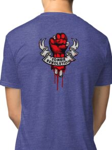 Zombie Revolution! -red- Tri-blend T-Shirt