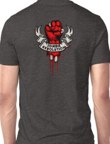 Zombie Revolution! -red- Unisex T-Shirt