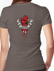 Zombie Revolution! -red- Womens Fitted T-Shirt