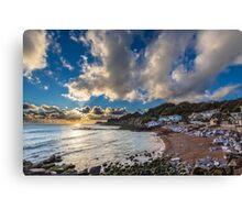 Steephill Cove Cloudscape Canvas Print