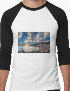 Steephill Cove Cloudscape Men's Baseball ¾ T-Shirt