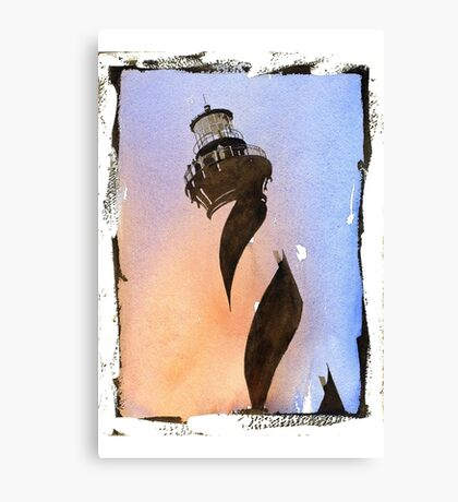 Cape Hatteras Lighthouse- North Carolina Canvas Print