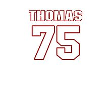 NFL Player Robert Thomas seventyfive 75 Photographic Print