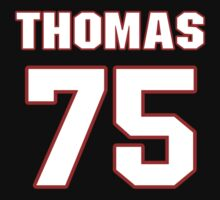 NFL Player Robert Thomas seventyfive 75 by imsport