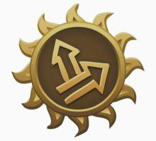 Glitch Giants emblem grendaline One Piece - Short Sleeve