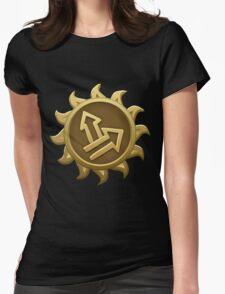 Glitch Giants emblem grendaline Womens Fitted T-Shirt