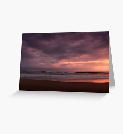 La Plage Greeting Card