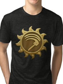 Glitch Giants emblem mab Tri-blend T-Shirt