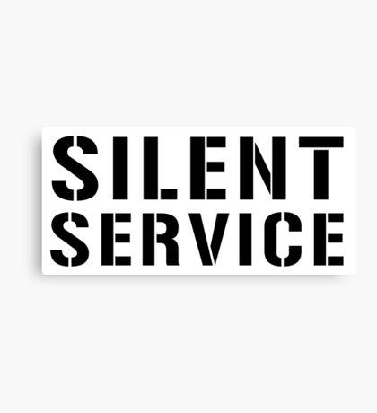 United States Submarine Service, US Navy, Silent Service Canvas Print