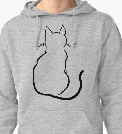 Cat Pullover Hoodie