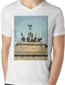 Brandenburg Gate Mens V-Neck T-Shirt