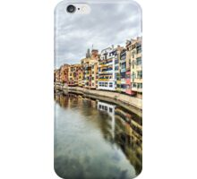 The Houses on the River Onyar (Girona, Catalonia) iPhone Case/Skin