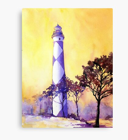 Cape Lookout Lighthouse- North Carolina Canvas Print