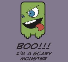 BOO! I'M A SCARY MONSTER Kids Tee