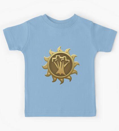 Glitch Giants emblem spriggan Kids Tee