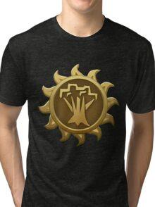 Glitch Giants emblem spriggan Tri-blend T-Shirt