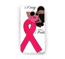 African American Breast Cancer T-shirts Samsung Galaxy Case/Skin