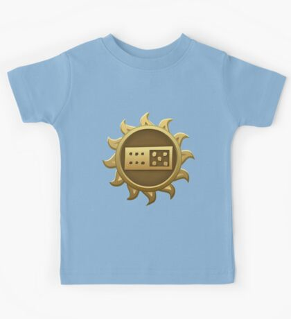 Glitch Giants emblem ti Kids Tee