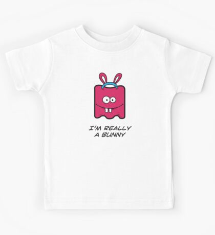 I'M REALLY A BUNNY Kids Tee