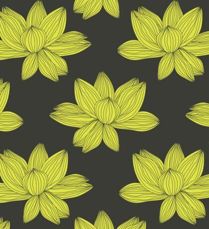 lotus flower pattern Sticker