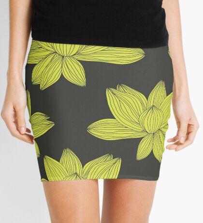lotus flower pattern Mini Skirt