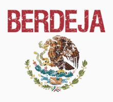 Berdeja Surname Mexican Kids Clothes