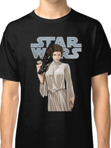 Princess Leia - Carrie Fisher - Star Wars Classic T-Shirt