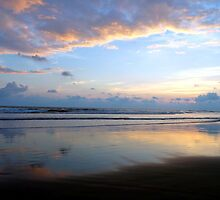 Sunset at Corcovado National Park by Polly Peacock