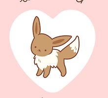 Eevee Valentine V2 by Steph Hodges
