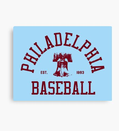 Philadelphia Baseball Canvas Print