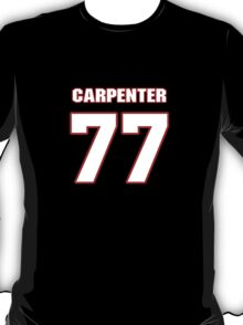 NFL Player James Carpenter seventyseven 77 T-Shirt