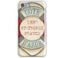 Cote D'Azur iPhone Case/Skin